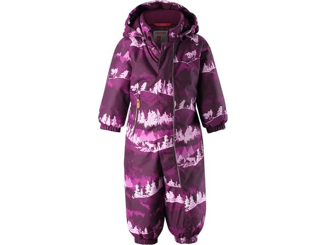 Reima Puhuri Combinaison D'Hiver Enfants en bas âge, deep purple